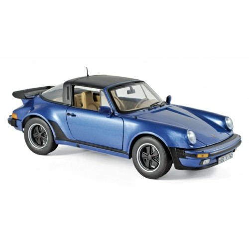 NV187663 - 1/18 PORSCHE 911 TURBO TARGA 1987 BLUE METALLIC