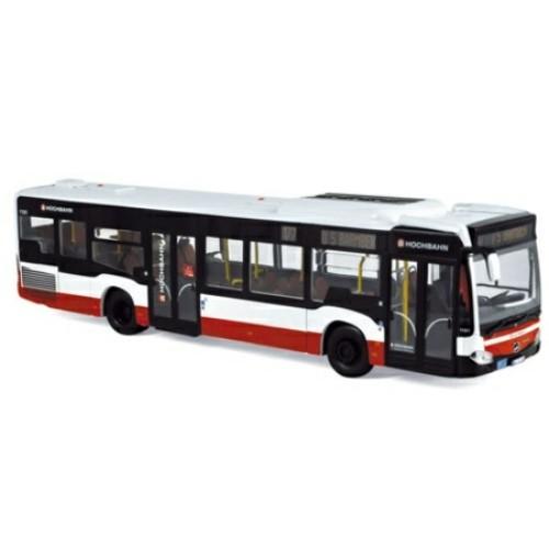 NV351190 - 1/43 MERCEDES-BENZ CITARO - HAMBURGER HOCHBAHN 2011 - WHITE AND RED