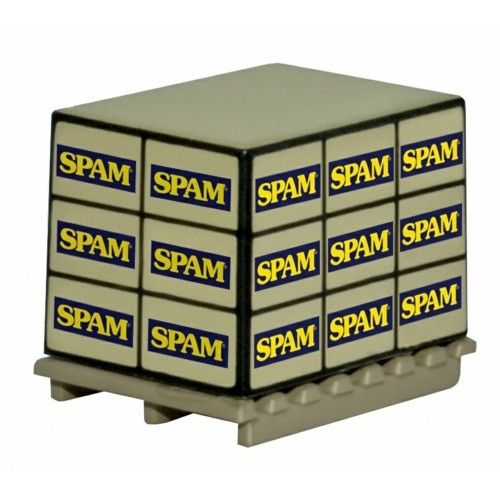 OX76ACC010 - 1/76 ACCESSORIES PALLET LOAD SPAM