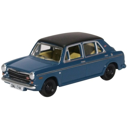 OX76AUS005 - 1/76 AUSTIN 1300 TEAL BLUE