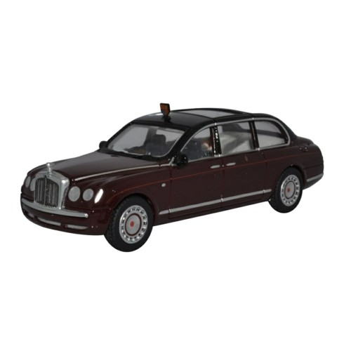 OX76BSL001 - 1/76 BENTLEY STATE LIMOUSINE HM THE QUEEN