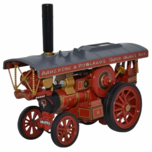 OX76FB6001 - 1/76 FOWLER B6 SHOWMANS LOCOMOTIVE THE LION AND ROWLAND