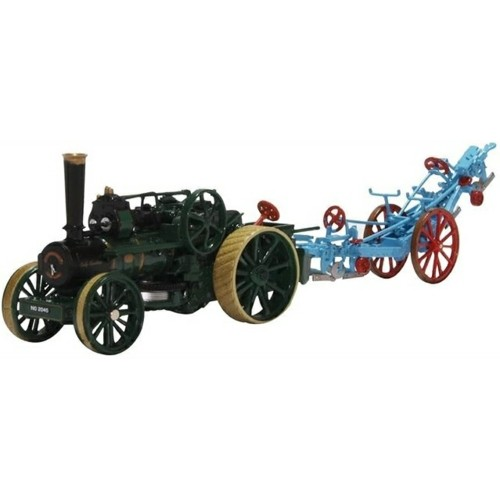 OX76FBB005 - 1/76 PLOUGHING ENGINE NO.15334 LADY CAROLINE AND PLOUGH
