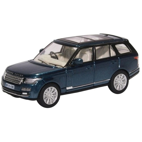 OX76RAN005 - 1/76 RANGE ROVER VOGUE AINTREE GREEN METALLIC