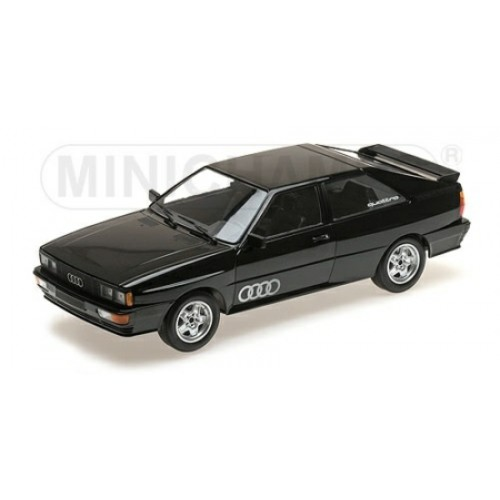 P155016121 - 1/18 AUDI QUATTRO - 1980 - BLACK METALLIC LTD 504 PCS