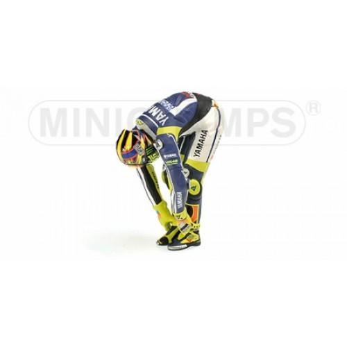 P312130186 - 1/12 FIGURINE - VALENTINO ROSSI - MOTOGP 2013 \'STRETCHING\'