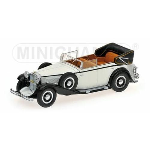 P436039407 - 1/43 MAYBACH ZEPPELIN - 1932 - WHITE/BLACK