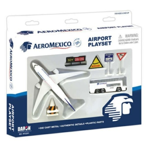 PPRT2201 - AERO MEXICO AIRPORT PLAYSET
