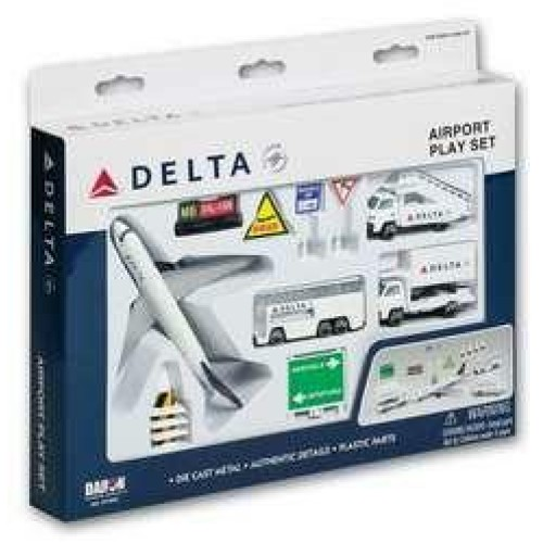 PPRT4991 - DELTA AIRLINES AIRPORT PLAYSET