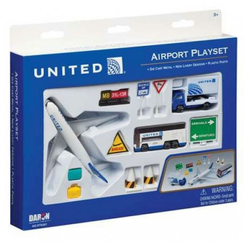 PPRT6261 - UNITED AIRLINES AIRPORT PLAYSET