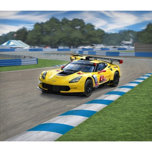 R67036 - 1/25 MODEL SET - CORVETTE C7.R (PLASTIC KIT)