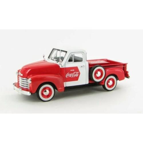RI440664 - 1/32 1953 CHEVY PICKUP TRUCK RED/WHITE COCA COLA