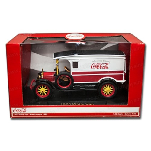 RI441761 - 1/32 1920 VINTAGE RED/WHITE VAN