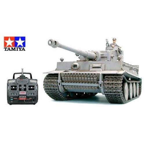 TAM56010 - 1/16 TIGER I EARLY W/OPTION KIT RADIO CONTROL KIT