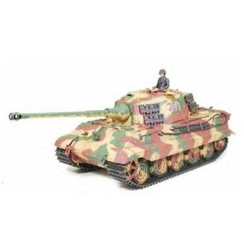 TAM56018 - 1/16 KING TIGER W OPTION KIT RADIO CONTROL KIT