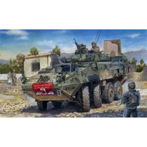 PLASTIC KIT TRUMPETER TM01519-1//35 LAV-III 8X8 ARMOURED VEHICLE