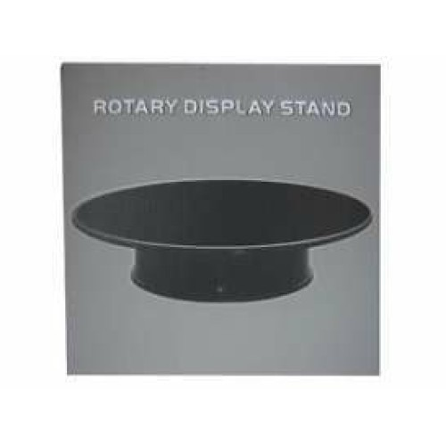 WT99010 - ROTARY DISPLAY 10 INCH 25.4CM APPROX BLACK SURFACE IDEAL FOR 1/18 SCALE CARS